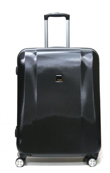 Titan Koffer Xenon 360°four 4-Rollen-Trolley 74 cm Schwarz