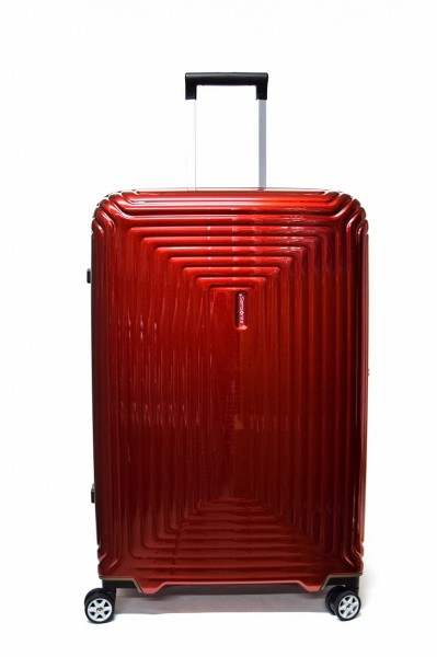Samsonite Koffer Neopulse M 69 cm in Metallic Rot