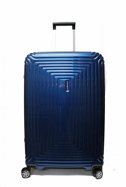 Samsonite Koffer Neopulse M 69 cm in Metallic Blue