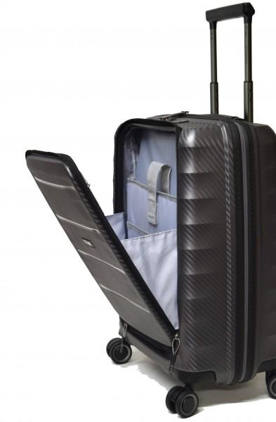 Titan Koffer Highlight 4 Rollen Trolley 55 cm S mit Vortasche