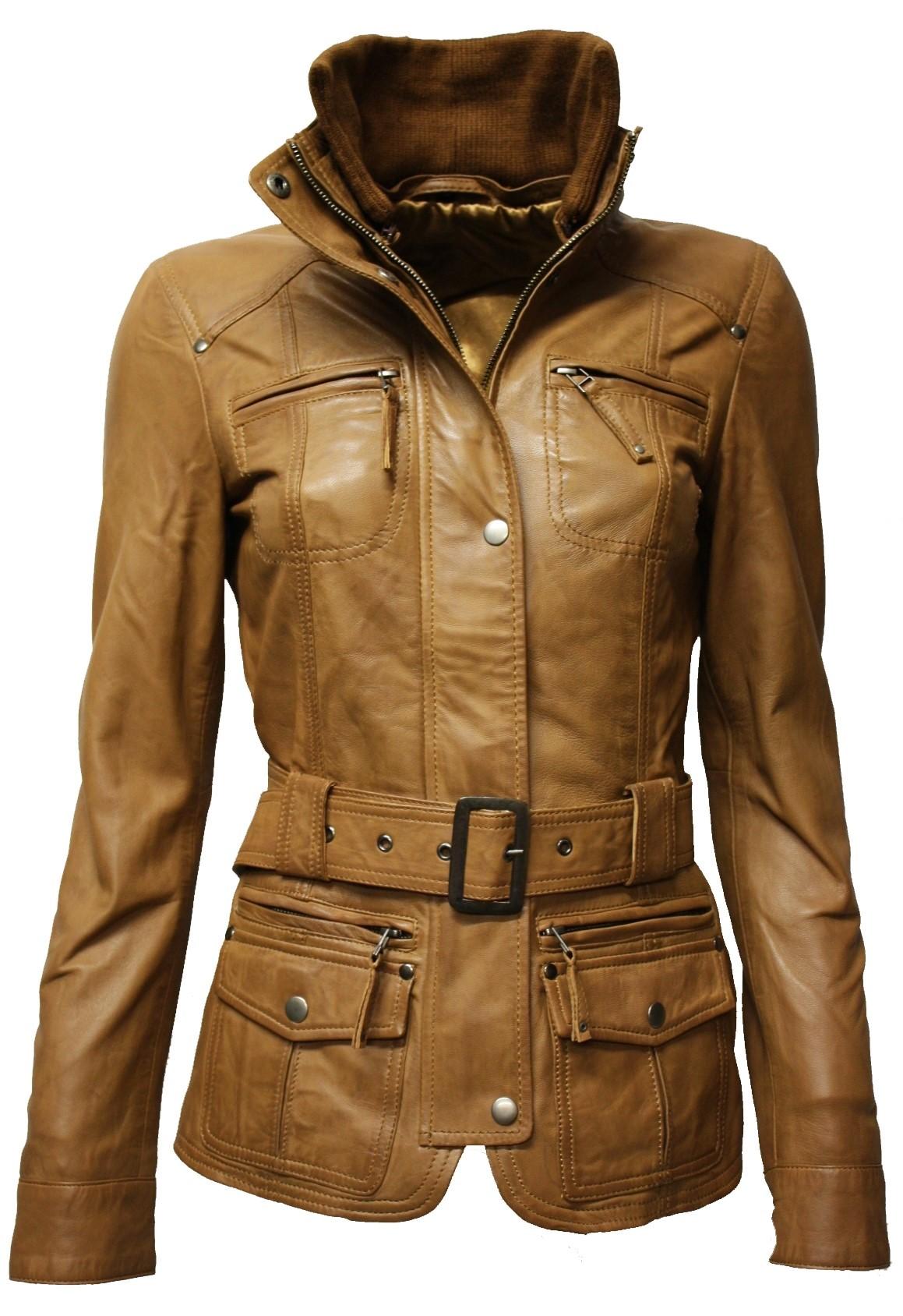 hochwertige Materialien Angebot günstig kaufen Damen Lederjacke