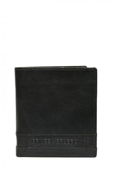 Spikes & Sparrow Geldbörse mit vielen Kartenfächer in Schwarz