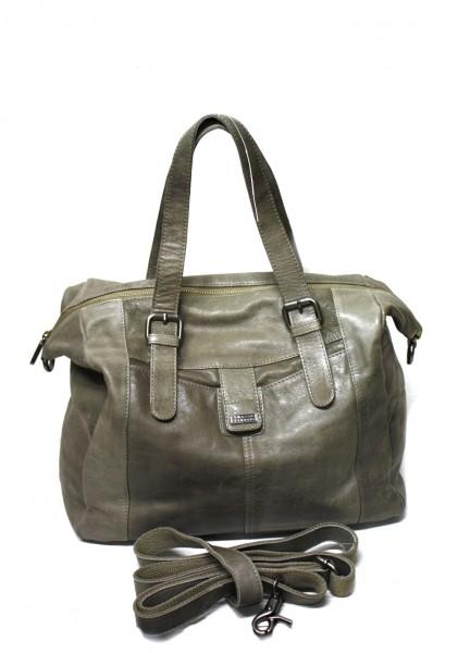 Spikes & Sparrow R- 332 Damen Handtasche im Vintage Leder in Grau
