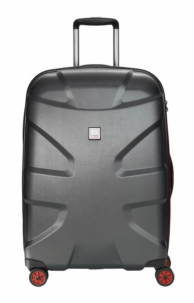 Titan Koffer X2 M+ 71 cm 4 Rollen Black Brushed Limitiert