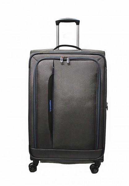Travelite Crosslite 4 Rollen Koffer M 67 cm Dehnfalte