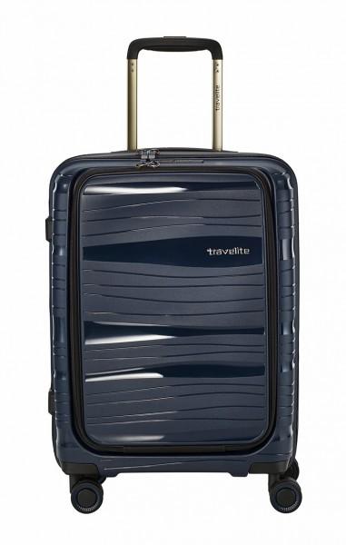 Travelite Koffer Motion 4 Rollen Trolley 55 cm S mit Vortasche