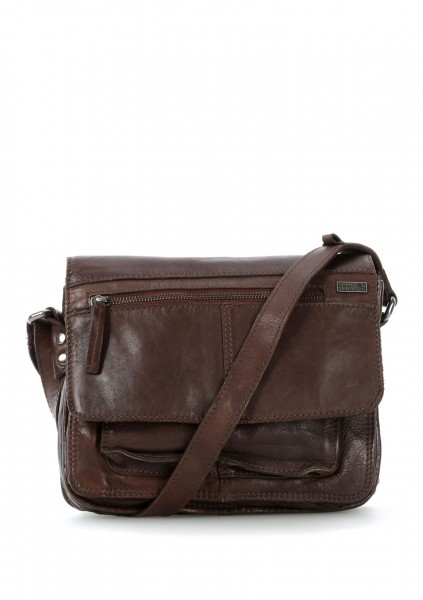 Spikes & Sparrow R-172 Damen Beuteltasche in Chocolate