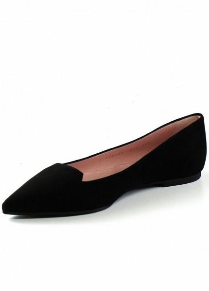 Spitze Pretty Loafers Ella in der Farbe Schwarz