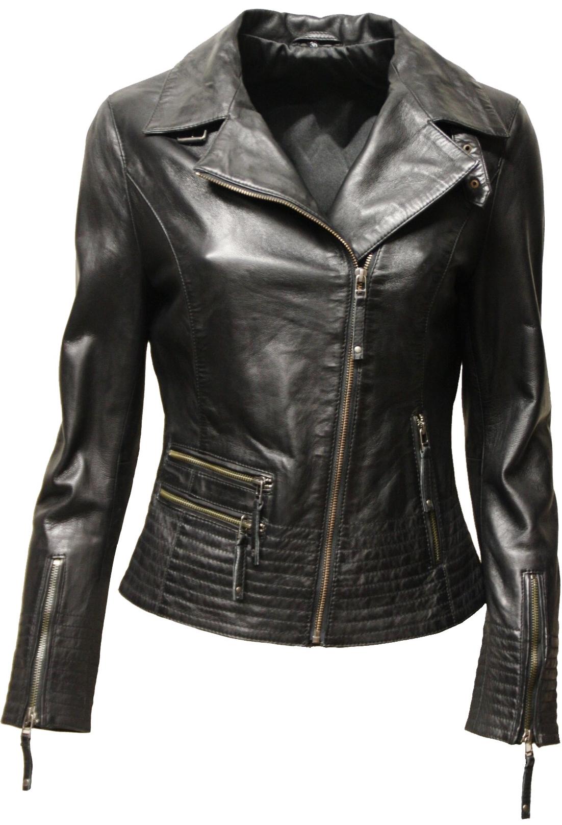designer fashion 13904 a7077 Damen Lederjacke