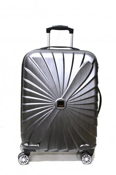 Titan Koffer Triport 4 Rollen M Spinner-Trolley anthrazit 65 cm