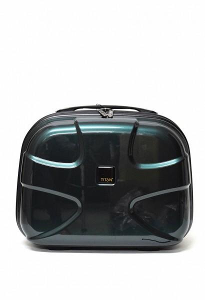 Titan X2 Flash Kosmetikkoffer in der Farbe Smaragd