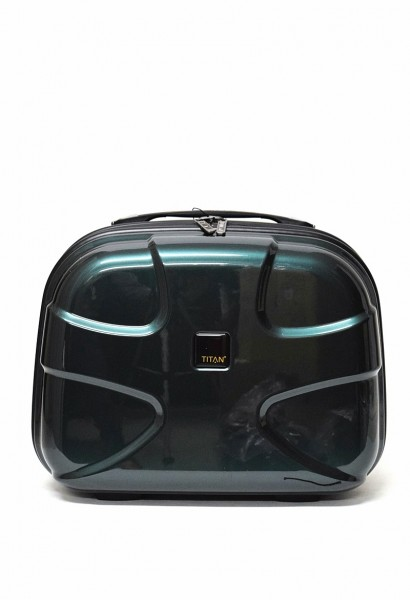 Titan X2 Flash Beautycase in der Farbe Smaragd
