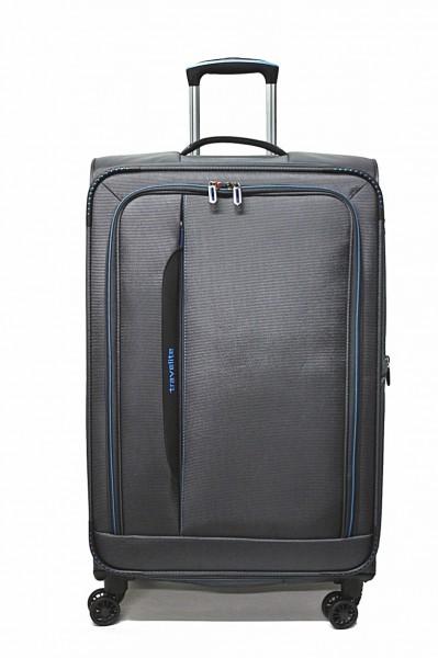Travelite Crosslite 4 Rollen Koffer L 77 cm Dehnfalte
